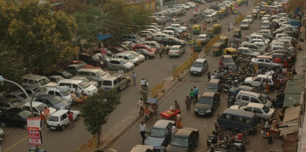 Parking problem in india